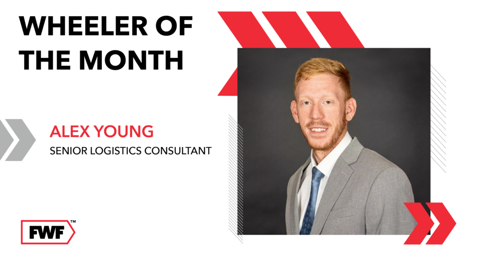 Alex Young is Fifth Wheel Freight's Wheeler of the Month