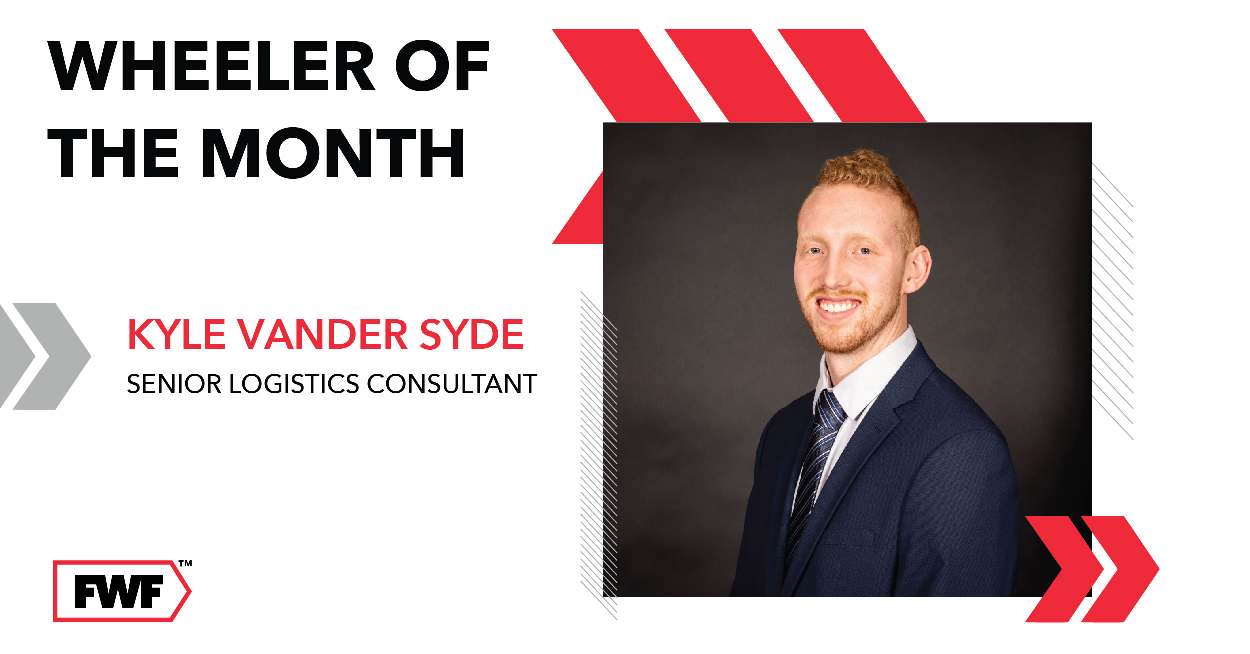 Kyle Vander Syde is Fifth Wheel Freight's Wheeler of the Month