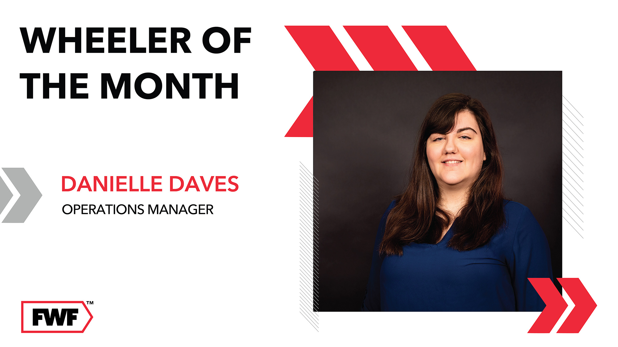 Danielle Daves is Fifth Wheel Freight's Wheeler of the Month