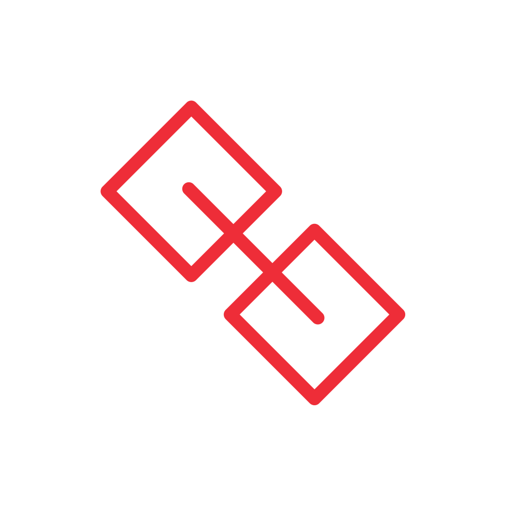 Red link icon.